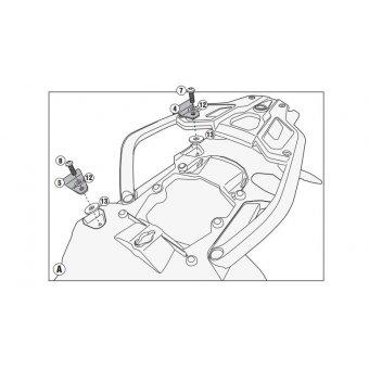 GIVI PLR5108KIT BMW R 1200 GS - R 1200 GS ADVENTURE (13-17) YAN ÇANTA TASIYICI BAGLANTI KITI