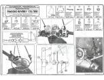 KAPPA A102A PIAGGIO BEVERLY 125-200 (01-04) RÜZGAR SİPERLİK BAĞLANTISI