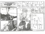 KAPPA A108A PIAGGIO BEVERLY 250 (04-07) RÜZGAR SİPERLİK BAĞLANTISI