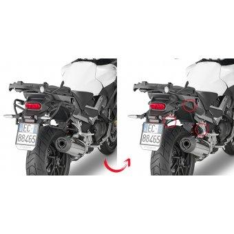 KAPPA KLXR1139 HONDA VFR 800X CROSSRUNNER (15-16) YAN ÇANTA TASIYICI