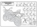 GIVI SRA3101 SUZUKI DL 650 V-STROM (11-16) ARKA ÇANTA TASIYICI