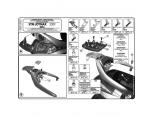 KAPPA KR2320 SYM JOYMAX (05-11) - GTS 250 (02-11) ARKA ÇANTA TASIYICI
