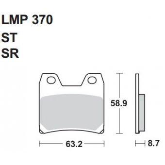 AP RACING 370 SR FREN BALATASI