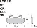 AP RACING 157 SR FREN BALATASI