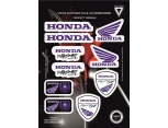 VEXO X21 HONDA STICKER SET MAVİ
