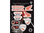 VEXO X20 HONDA STICKER SET KIRMIZI
