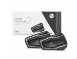 SCALA RIDER FREECOM 2 DUO BLUETOOTH VE INTERCOM (IKILI PAKET)