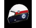 NEXX X.G100 RACER BILLY B SARI-SIYAH KASK