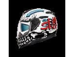 NEXX SX.100 SUPERSPEED MAT GRI-BEYAZ KASK