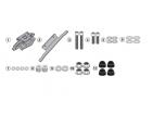 GIVI 2139KIT YAMAHA TRACER 900 - TRACER 900 GT (18-19) YAN ÇANTA TASIYICI BAGLANTI KITI